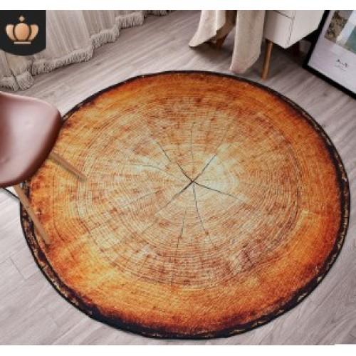 3D Ковер круглый A-0003 D-180 см